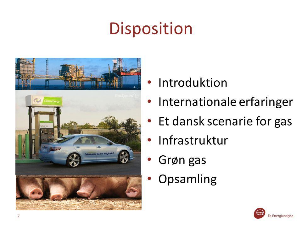Disposition Introduktion Internationale erfaringer