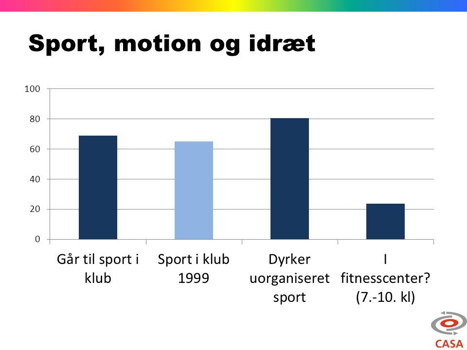 Sport, motion og idræt