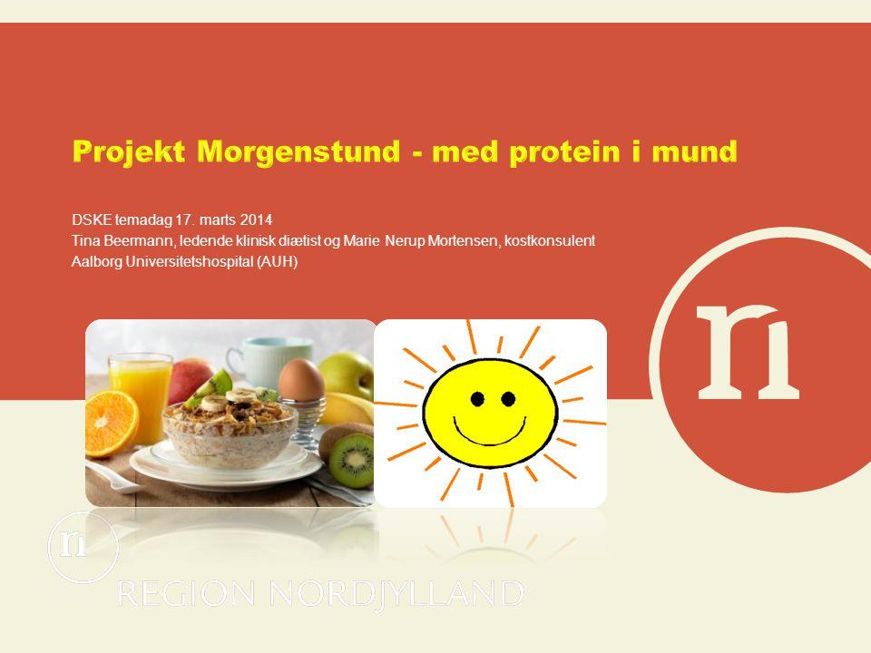 Projekt Morgenstund - med protein i mund