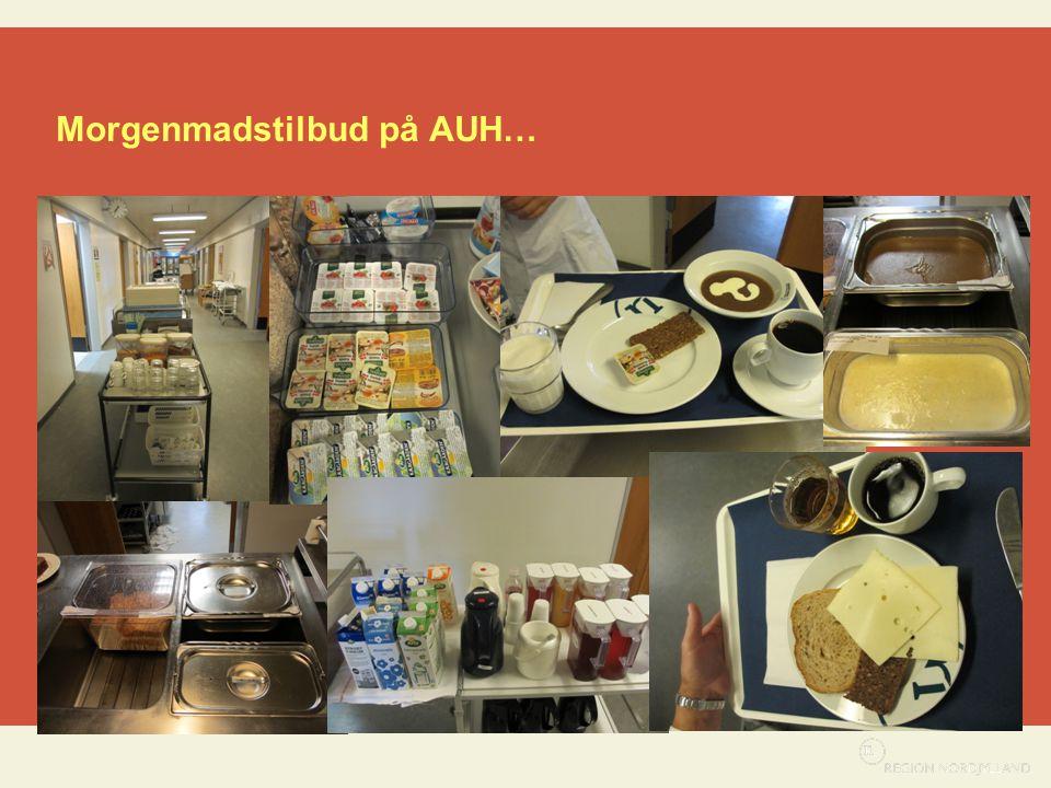 Morgenmadstilbud på AUH…