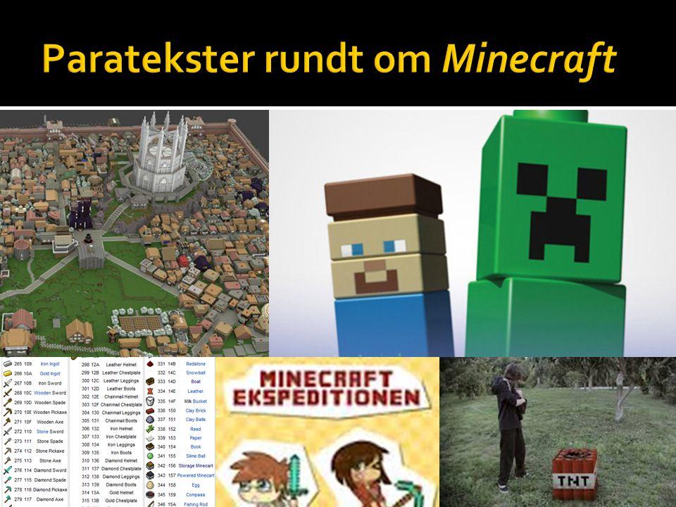 Paratekster rundt om Minecraft