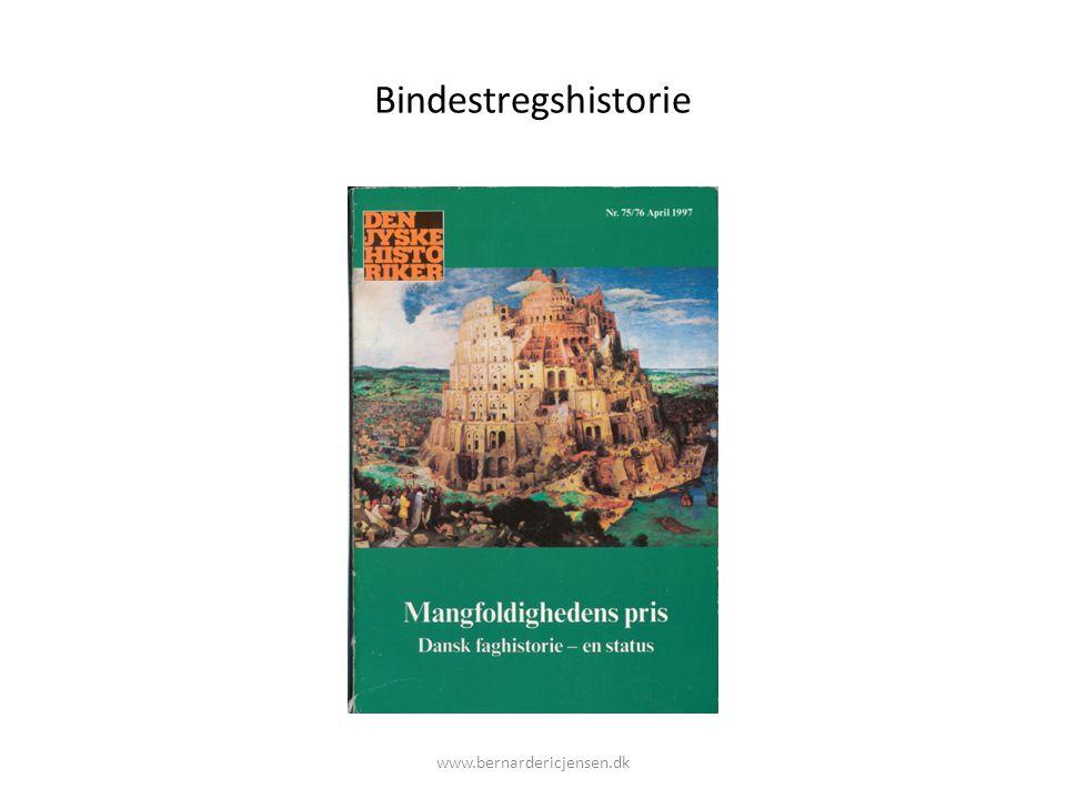 Bindestregshistorie www.bernardericjensen.dk
