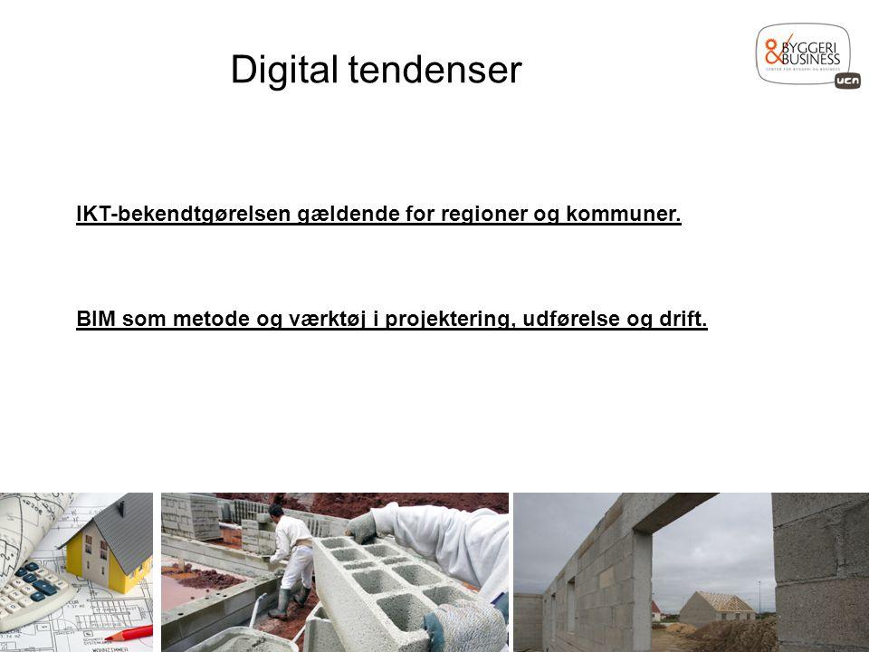 Digital tendenser IKT-bekendtgørelsen gældende for regioner og kommuner.