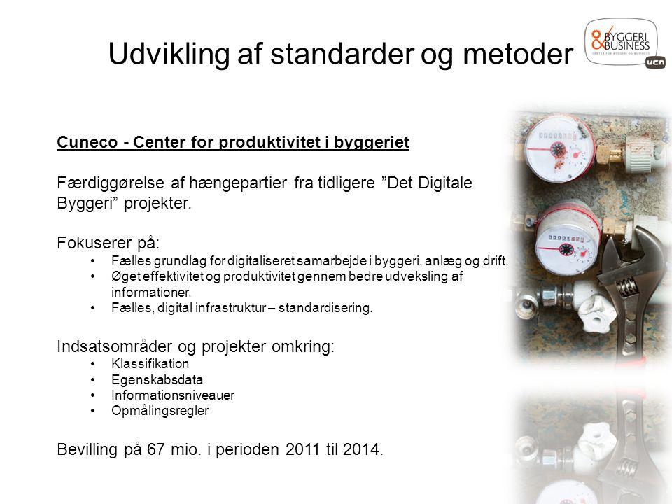 Udvikling af standarder og metoder