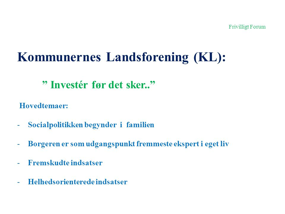 Kommunernes Landsforening (KL):