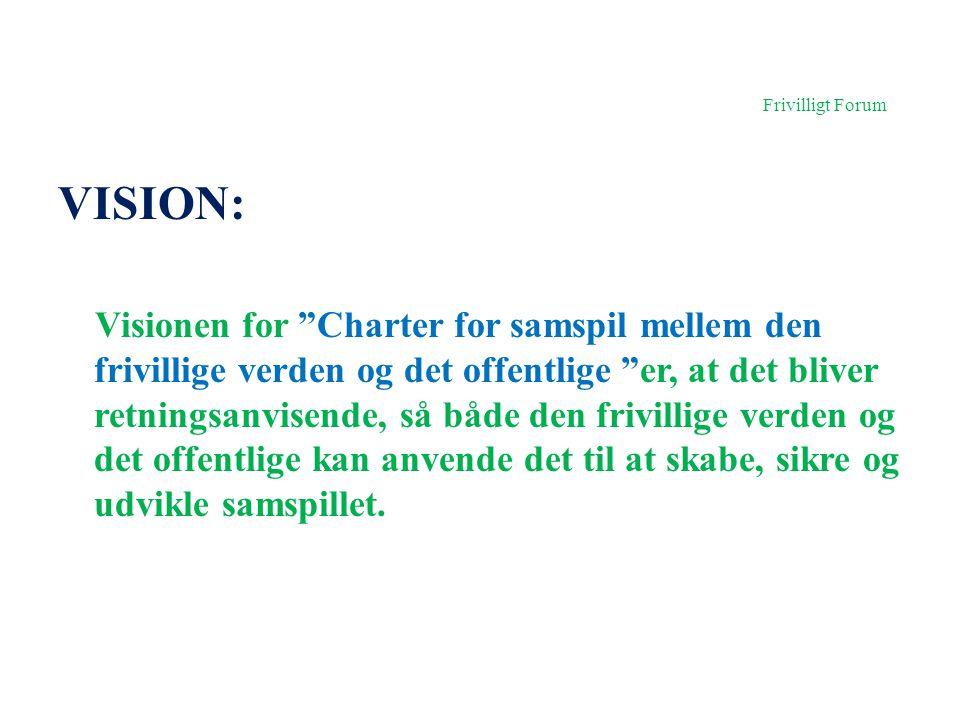 Frivilligt Forum VISION: