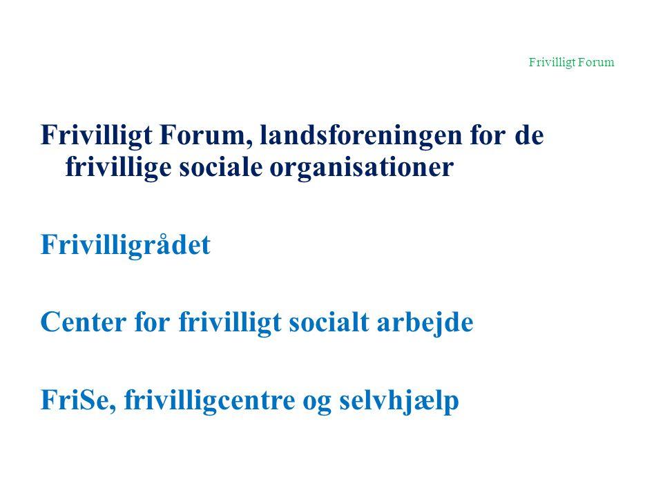 Frivilligt Forum