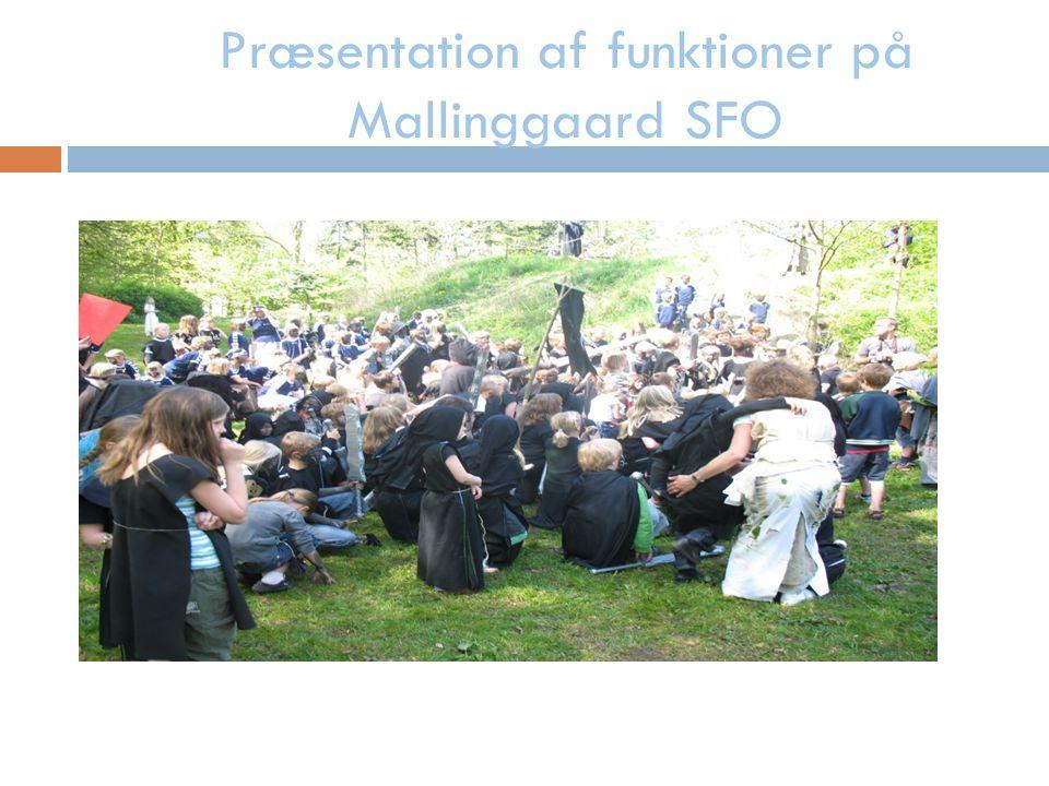Præsentation af funktioner på Mallinggaard SFO