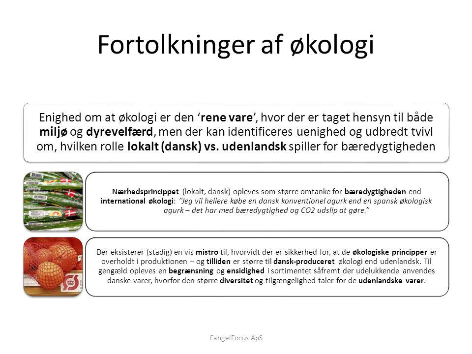 Fortolkninger af økologi