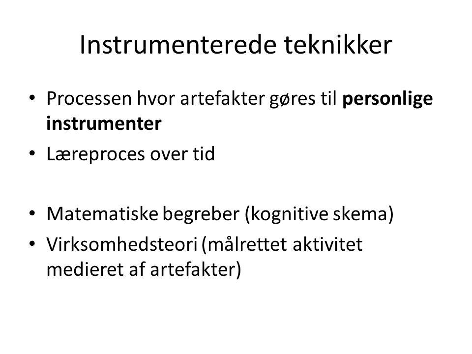 Instrumenterede teknikker