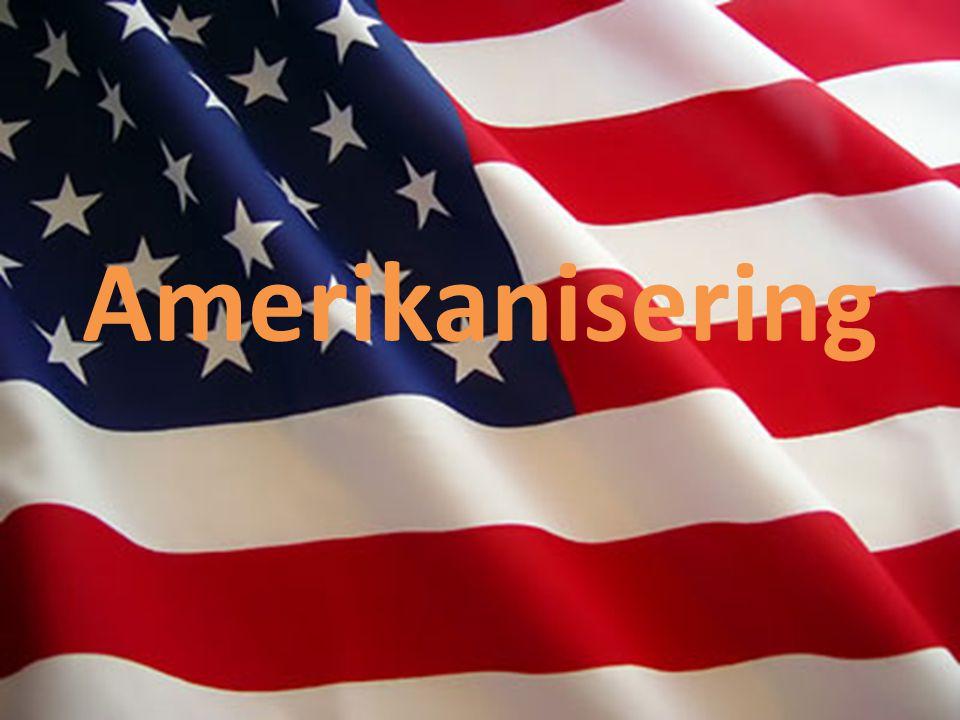 Amerikanisering