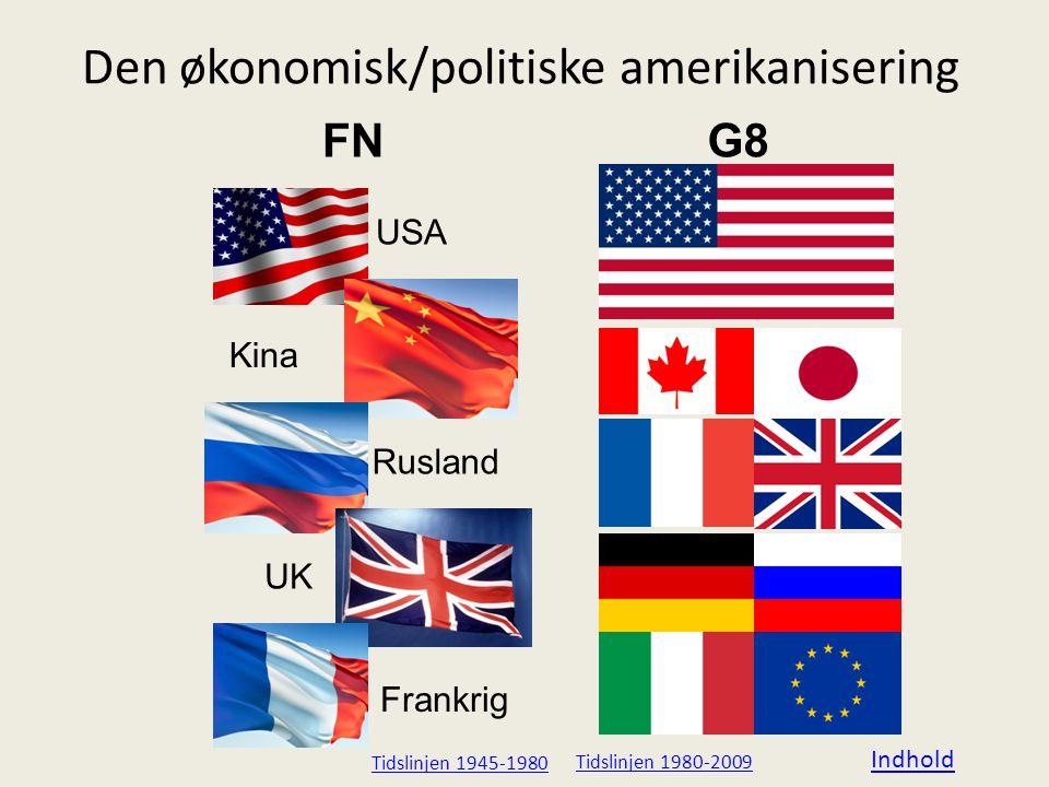 Den økonomisk/politiske amerikanisering