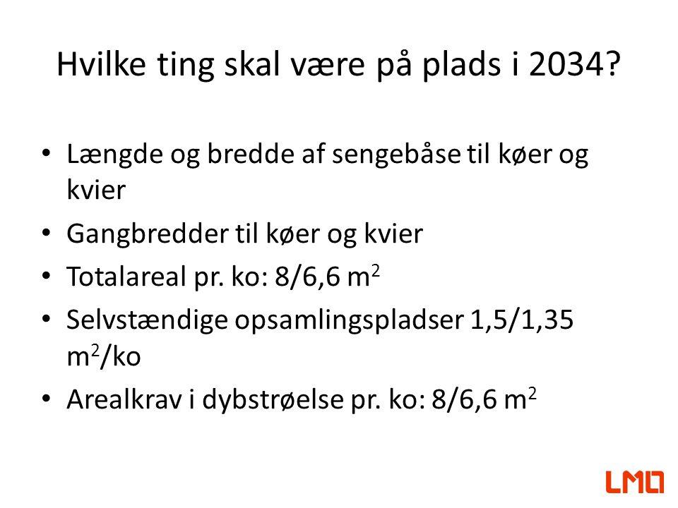 Hvilke ting skal være på plads i 2034