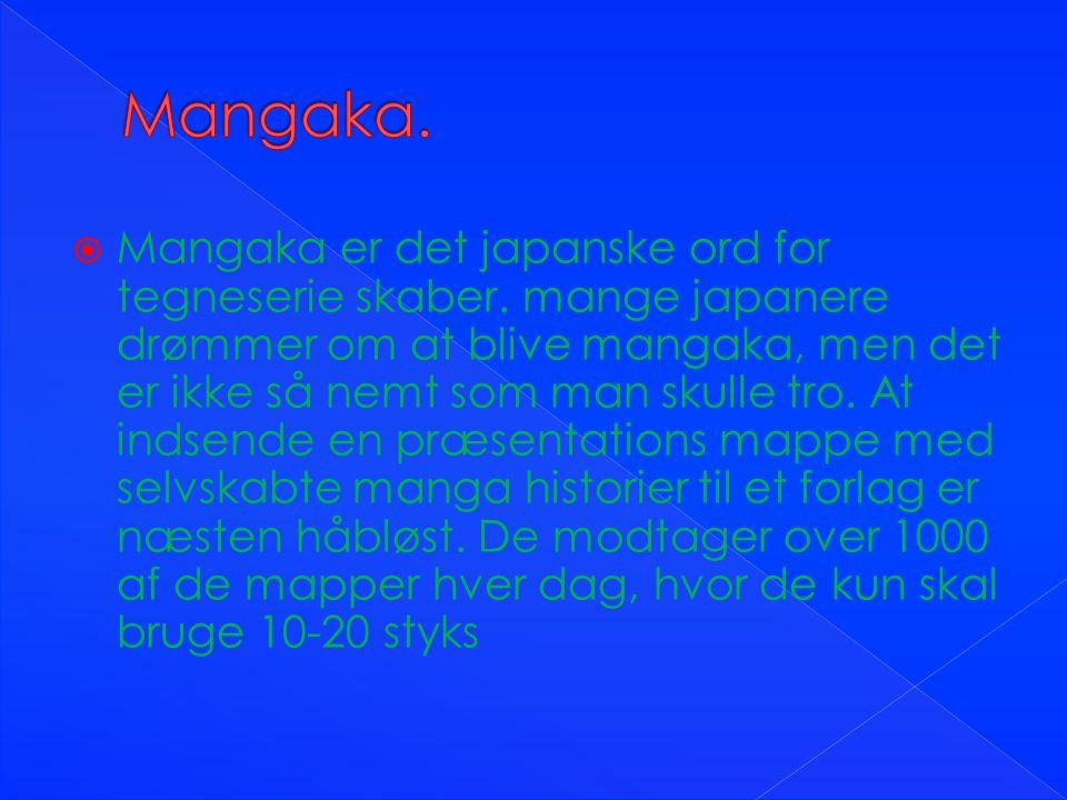 Mangaka.