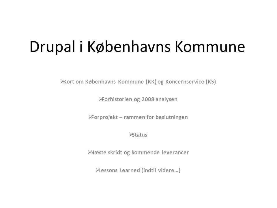 Drupal i Københavns Kommune