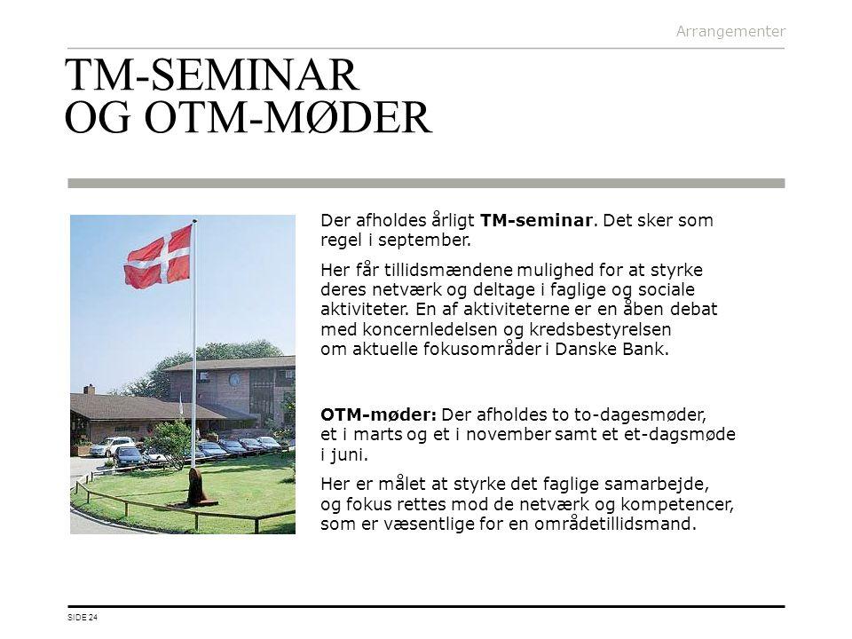 TM-SEMINAR OG OTM-MØDER