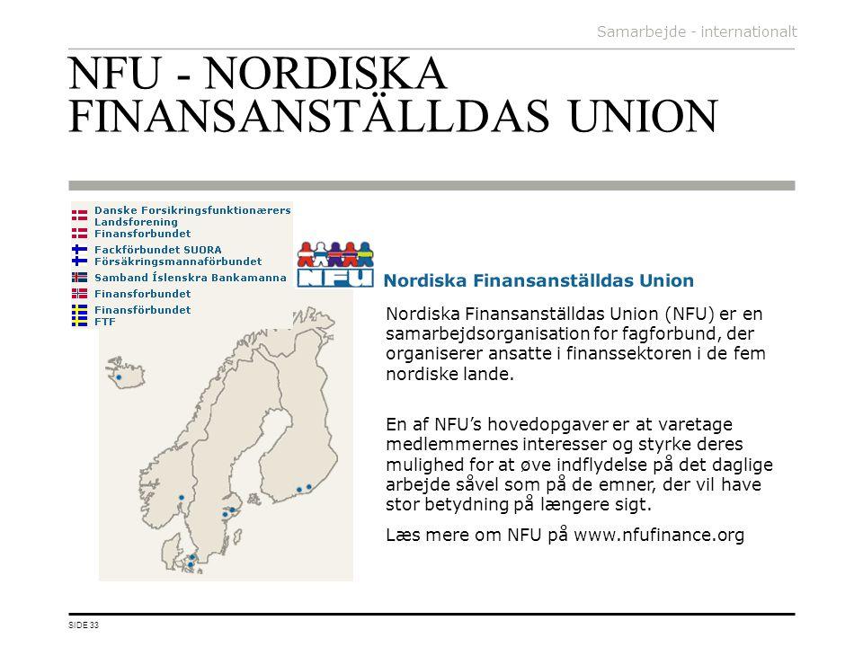 NFU - NORDISKA FINANSANSTÄLLDAS UNION