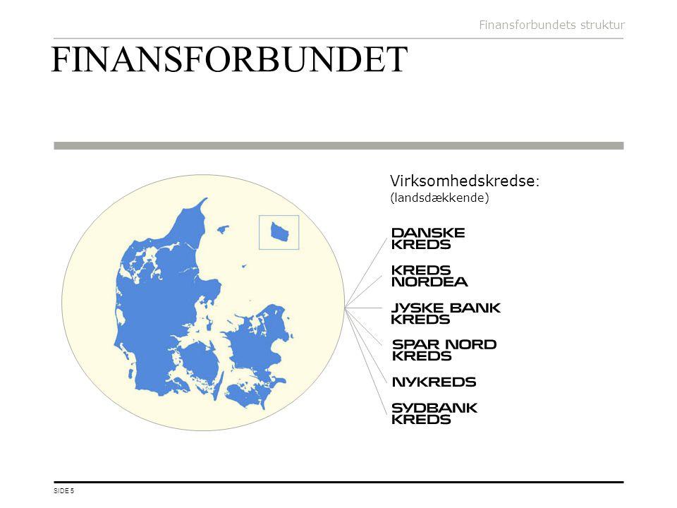 FINANSFORBUNDET Virksomhedskredse: (landsdækkende)