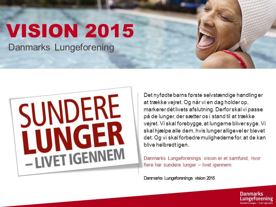 VISION 2015 Danmarks Lungeforening