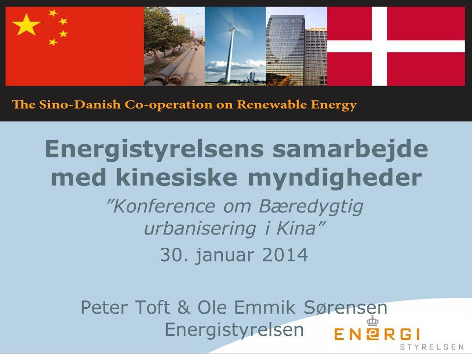 Energistyrelsens samarbejde med kinesiske myndigheder