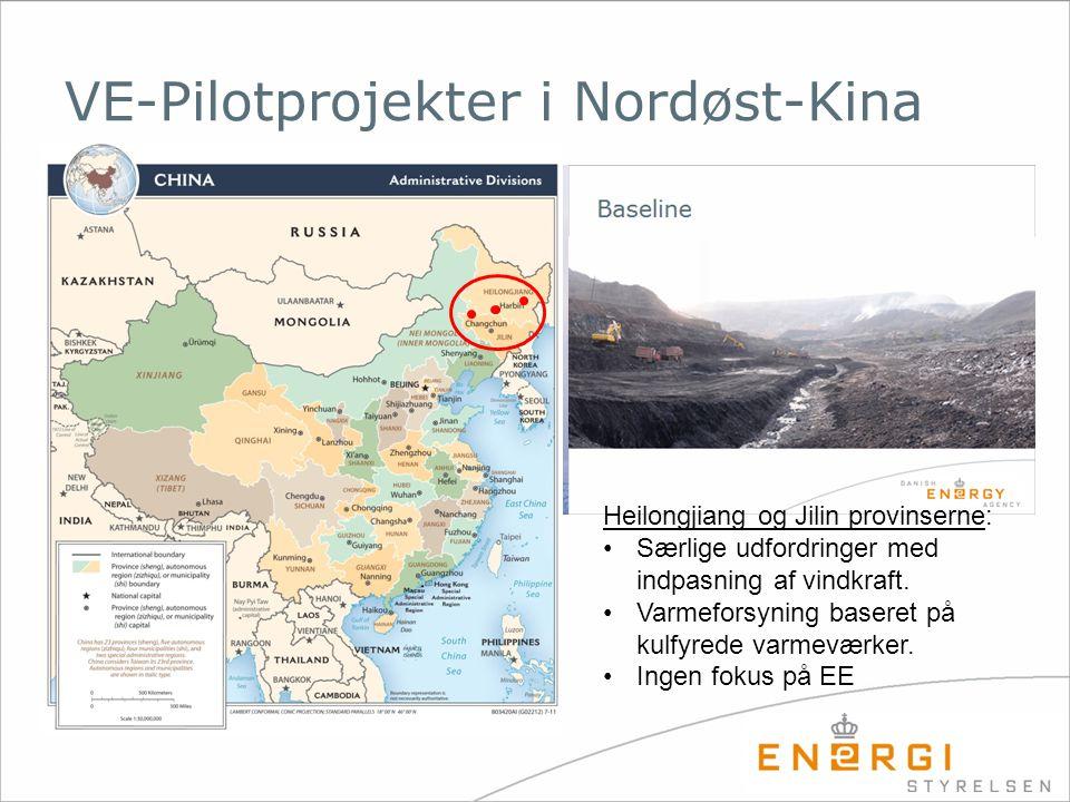 VE-Pilotprojekter i Nordøst-Kina