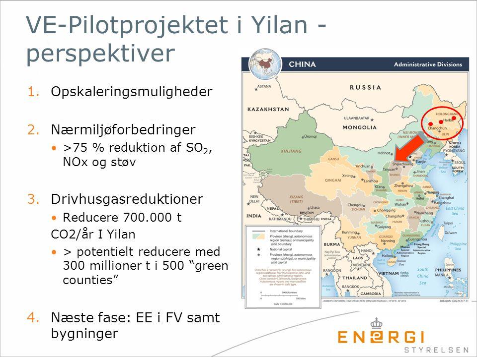 VE-Pilotprojektet i Yilan - perspektiver