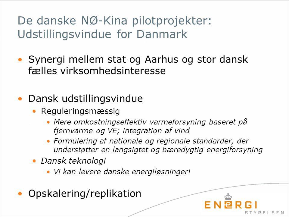 De danske NØ-Kina pilotprojekter: Udstillingsvindue for Danmark