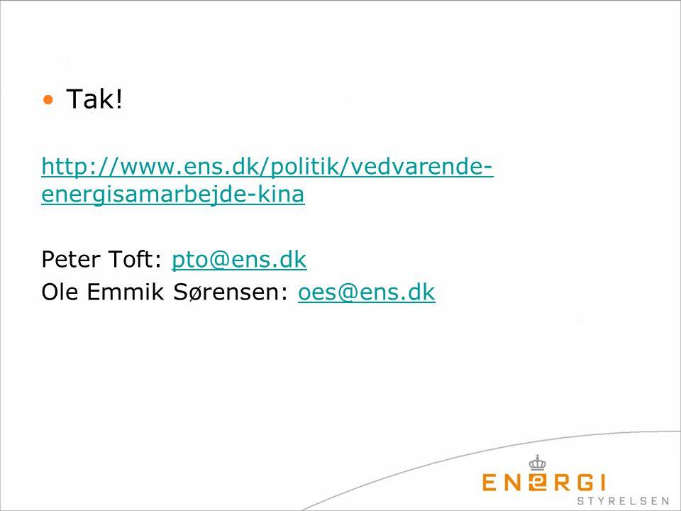 Tak! http://www.ens.dk/politik/vedvarende-energisamarbejde-kina