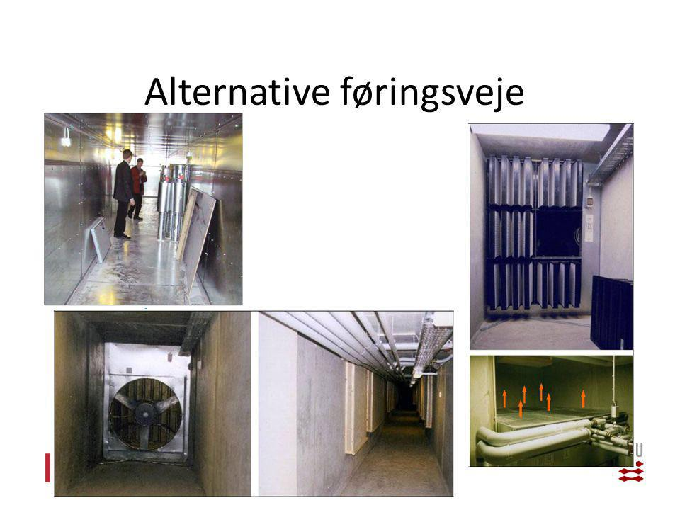 Alternative føringsveje