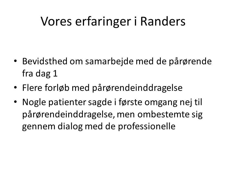 Vores erfaringer i Randers