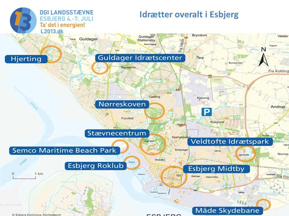 Idrætter overalt i Esbjerg