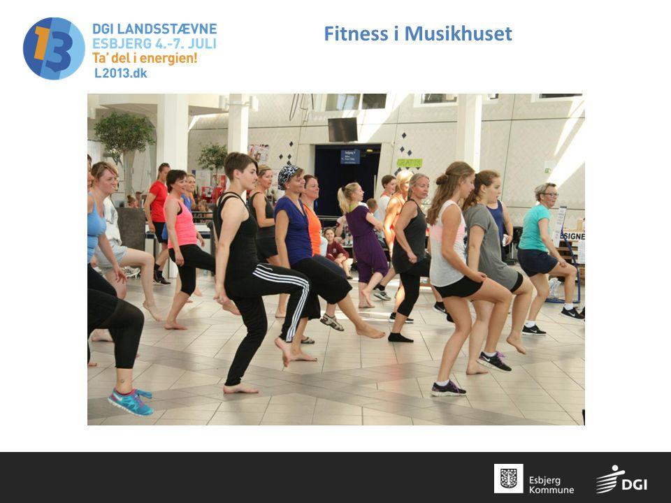Fitness i Musikhuset