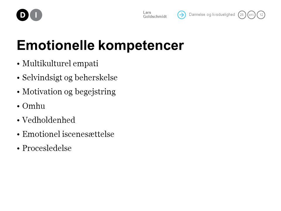 Emotionelle kompetencer