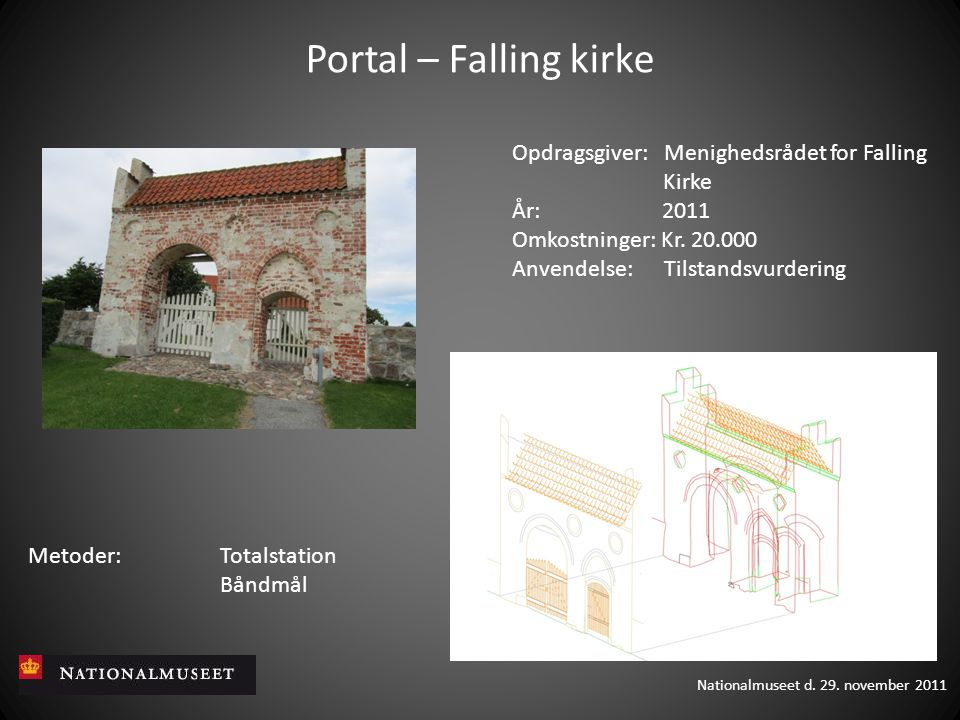 Portal – Falling kirke Opdragsgiver: Menighedsrådet for Falling Kirke