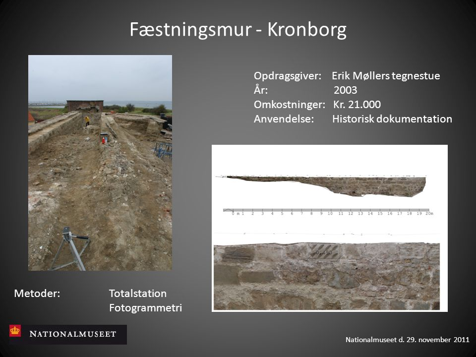 Fæstningsmur - Kronborg
