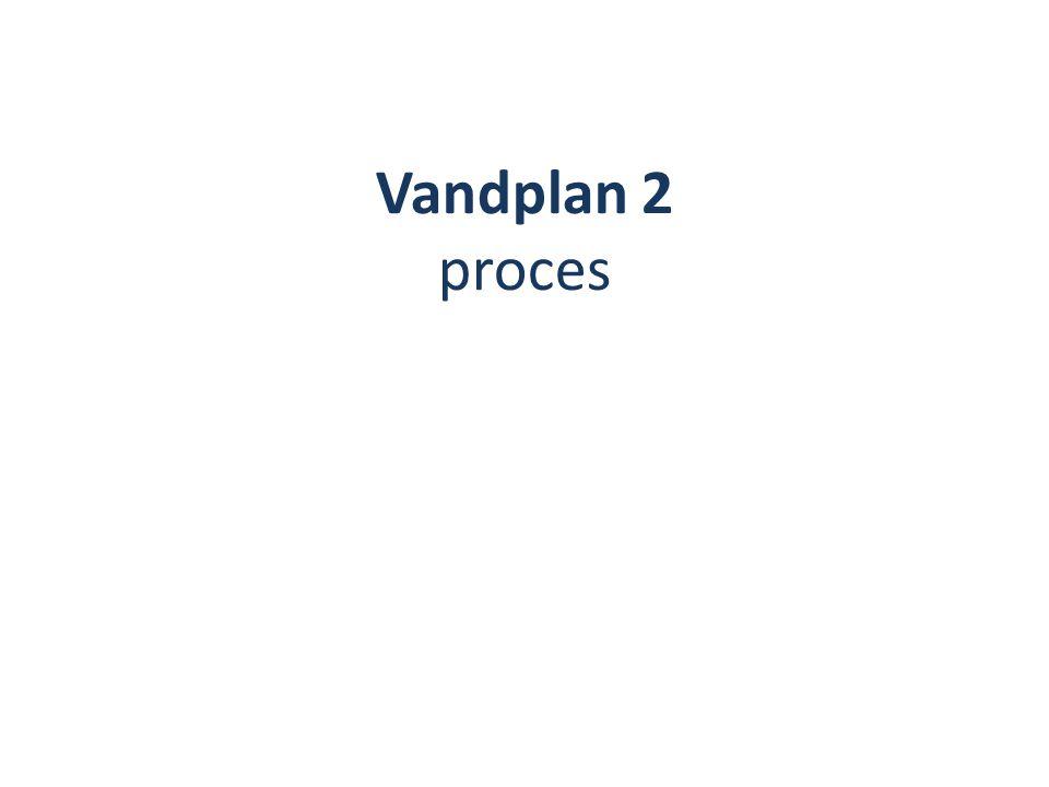 Vandplan 2 proces