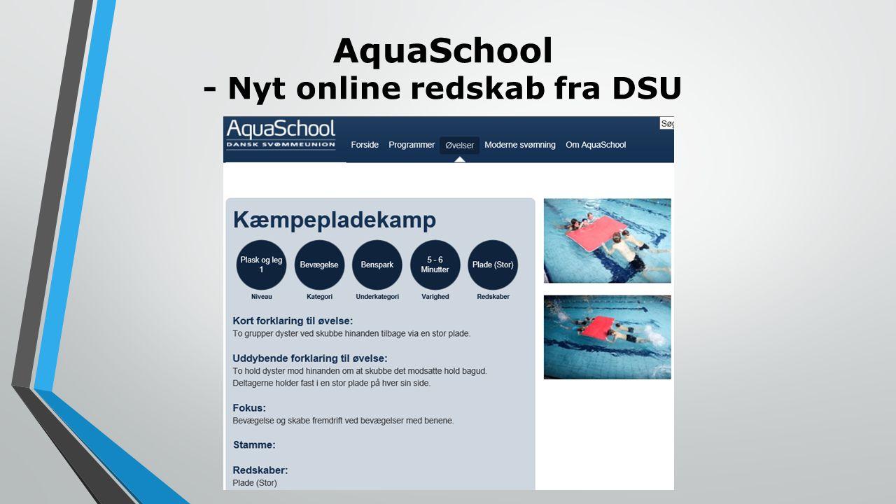 AquaSchool - Nyt online redskab fra DSU