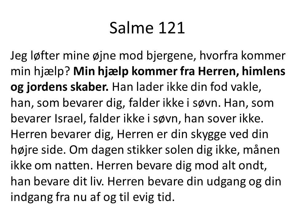 Salme 121