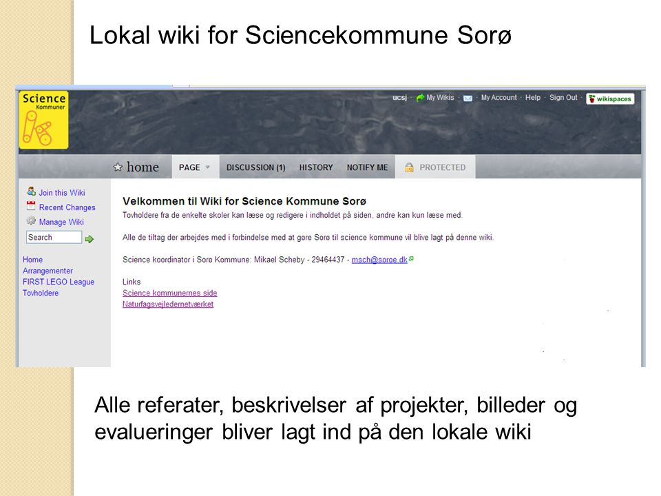 Lokal wiki for Sciencekommune Sorø