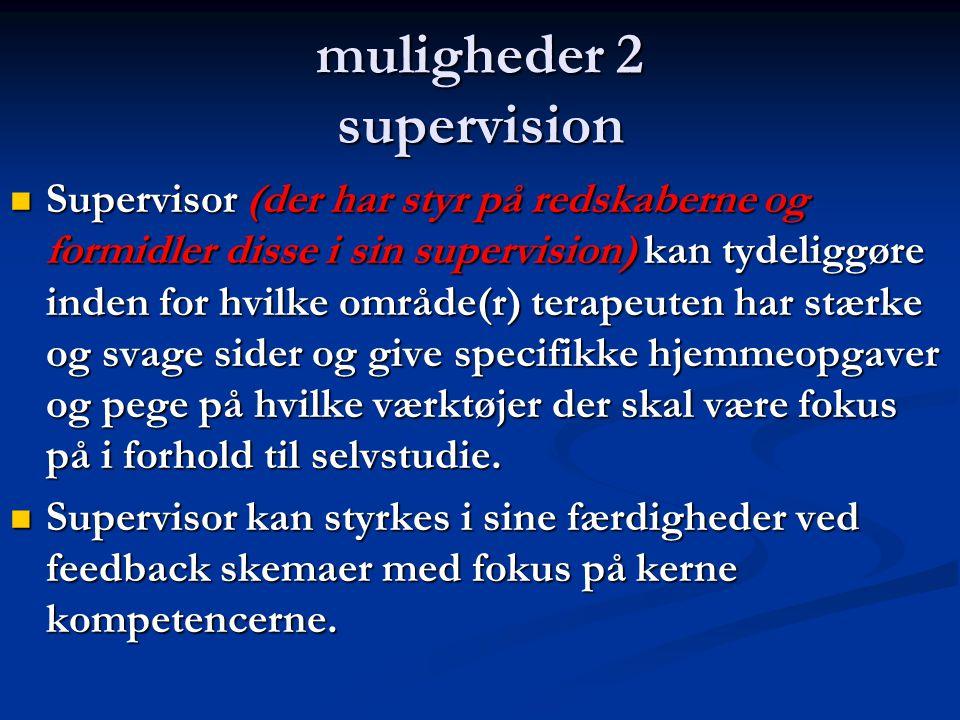 muligheder 2 supervision