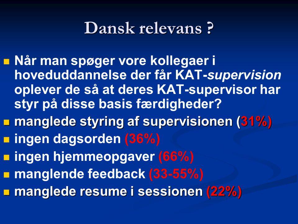 Dansk relevans