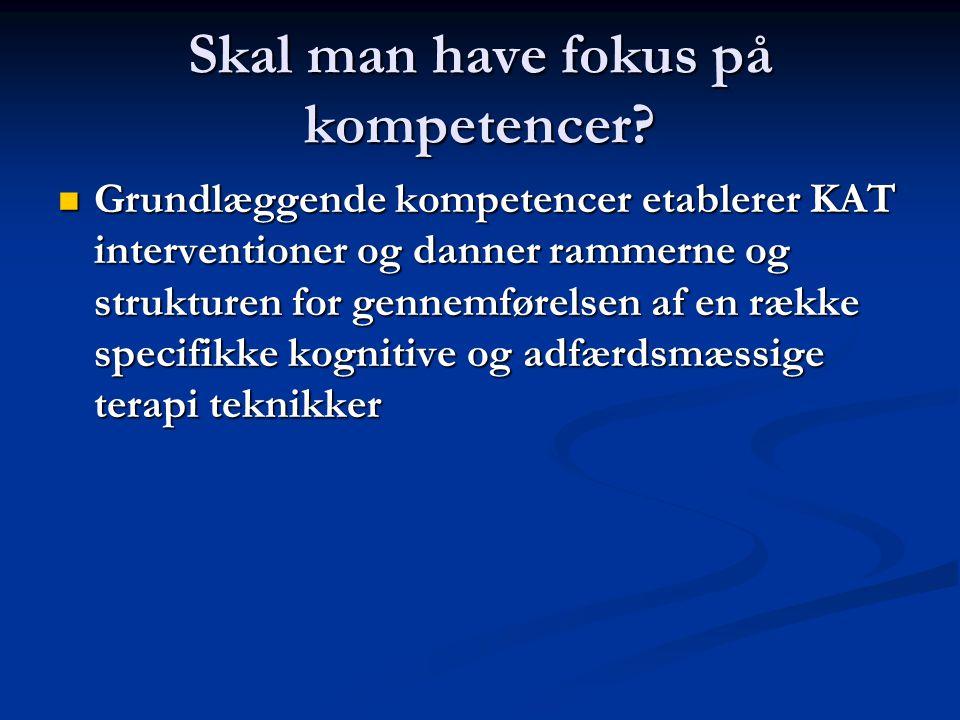 Skal man have fokus på kompetencer