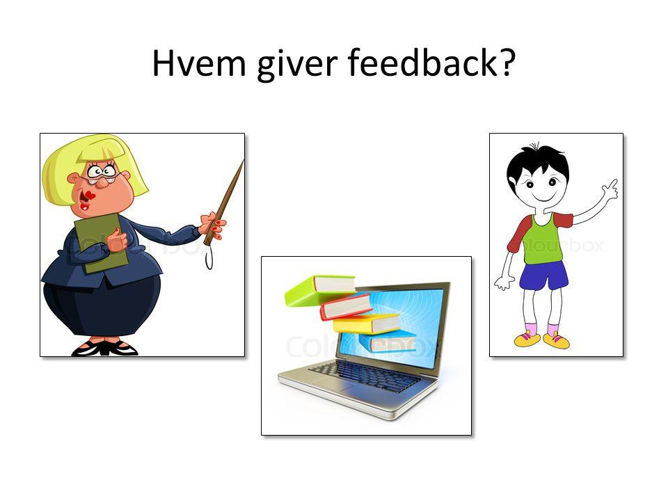 Hvem giver feedback
