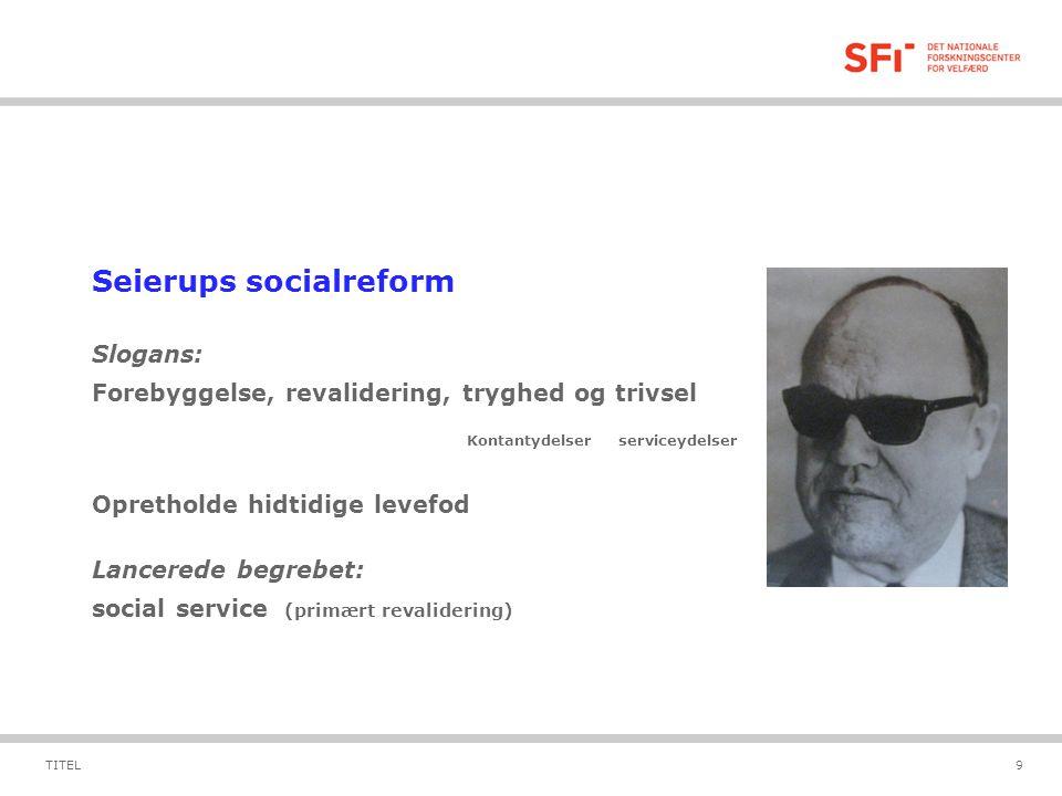Seierups socialreform