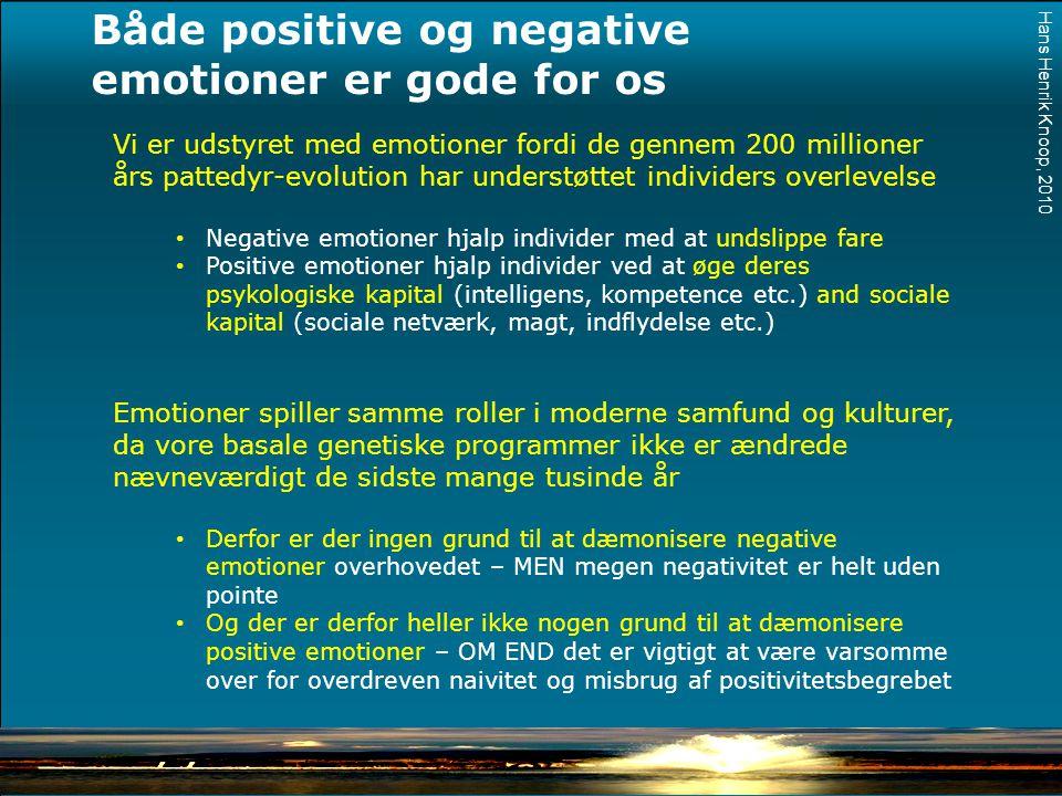 Både positive og negative emotioner er gode for os