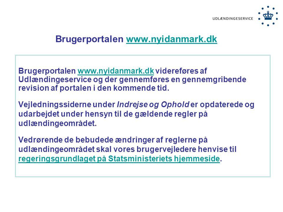 Brugerportalen www.nyidanmark.dk