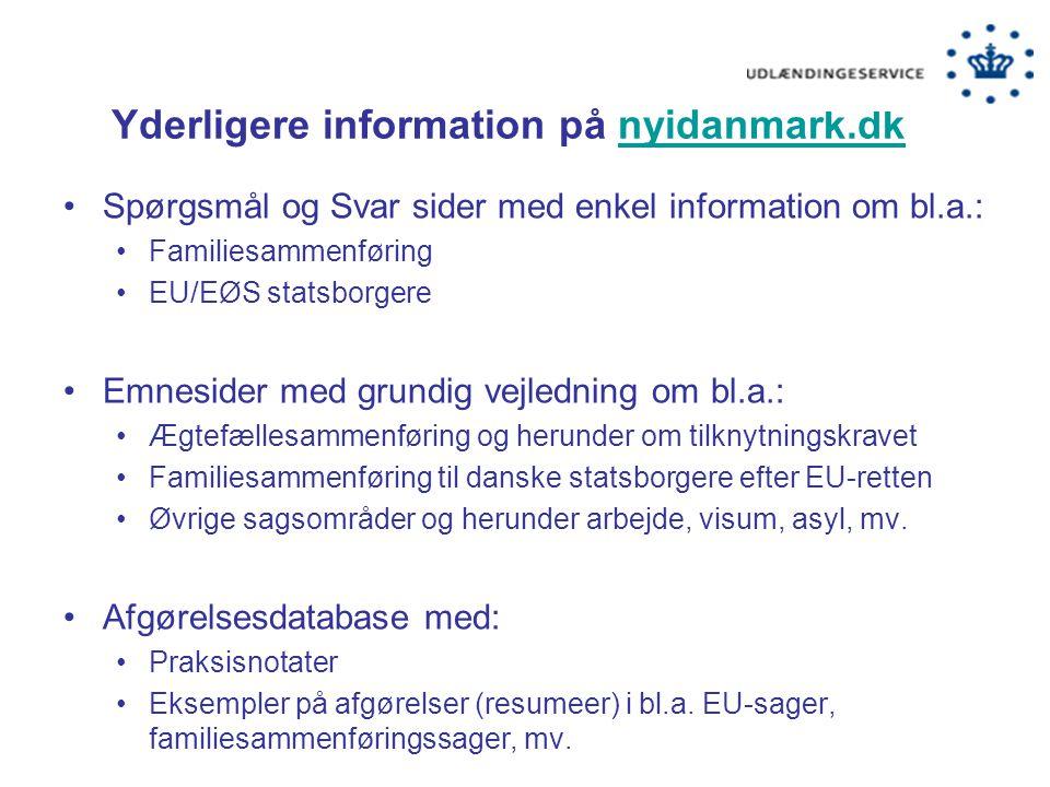 Yderligere information på nyidanmark.dk
