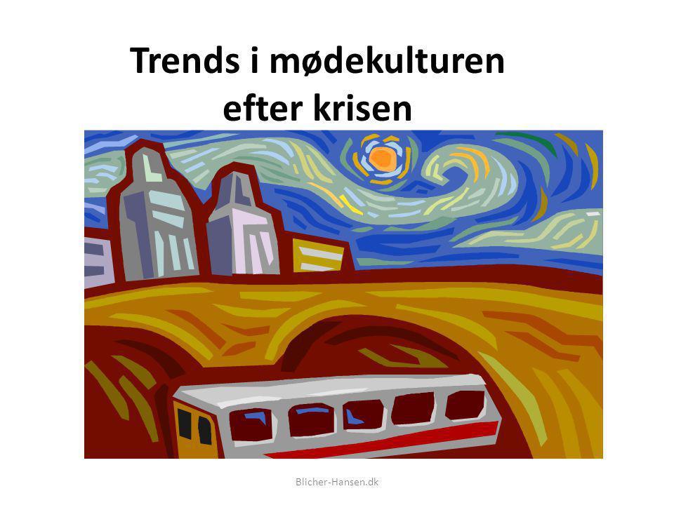 Trends i mødekulturen efter krisen