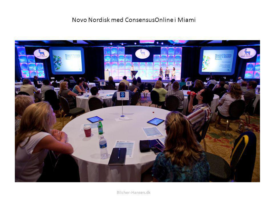 Novo Nordisk med ConsensusOnline i Miami