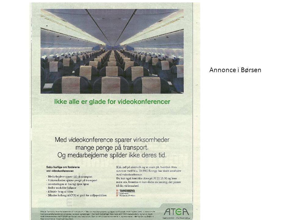 Annonce i Børsen Lars Blicher-Hansen